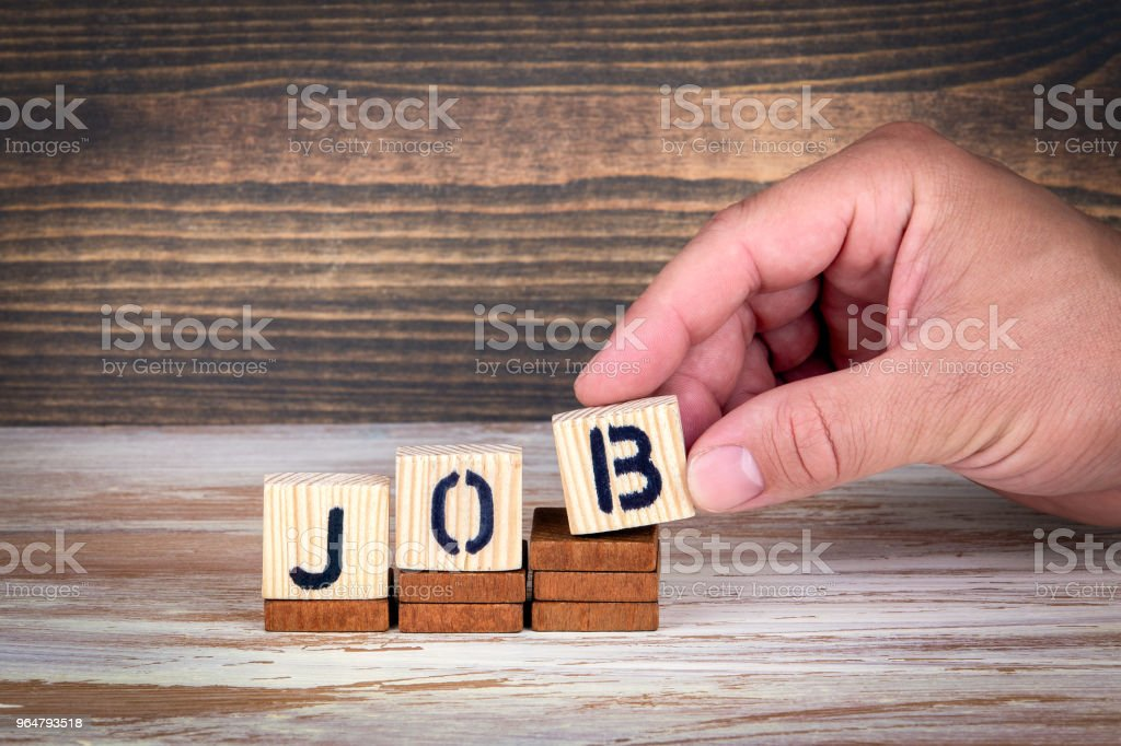 Job, career and business, education concept royalty-free stock photo