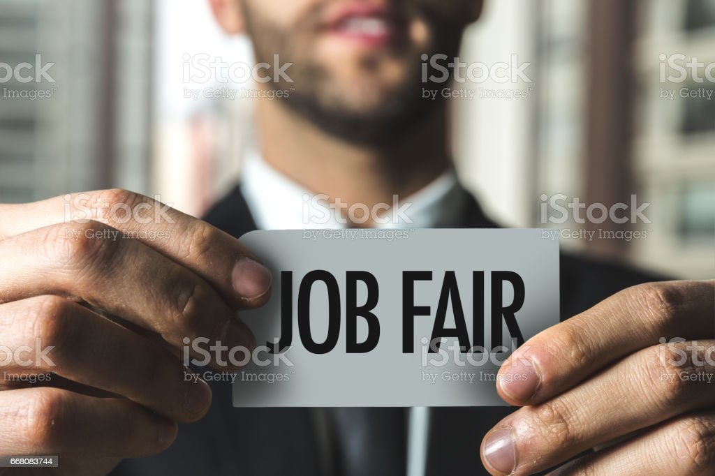 Job Fair stock photo