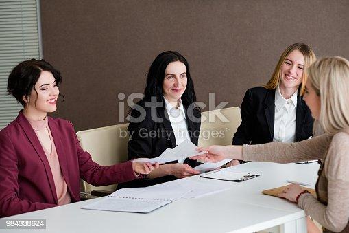 istock job hiring hr team work applicant interview 984338624