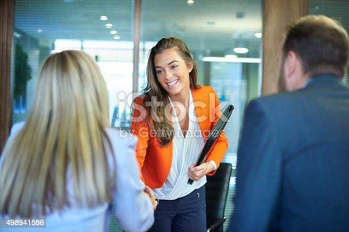 istock job interview first impressions 498941586