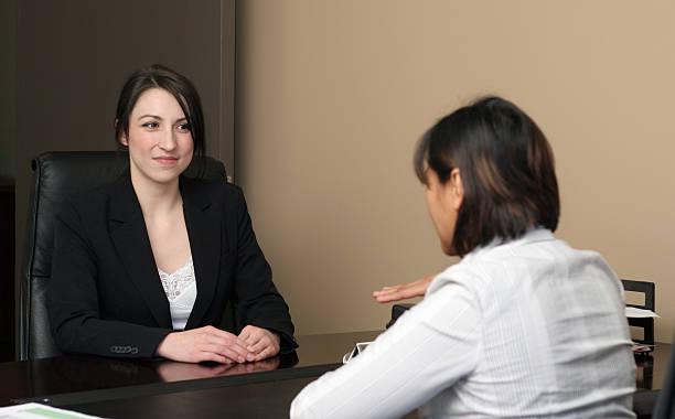 Job Interview Meeting stock photo