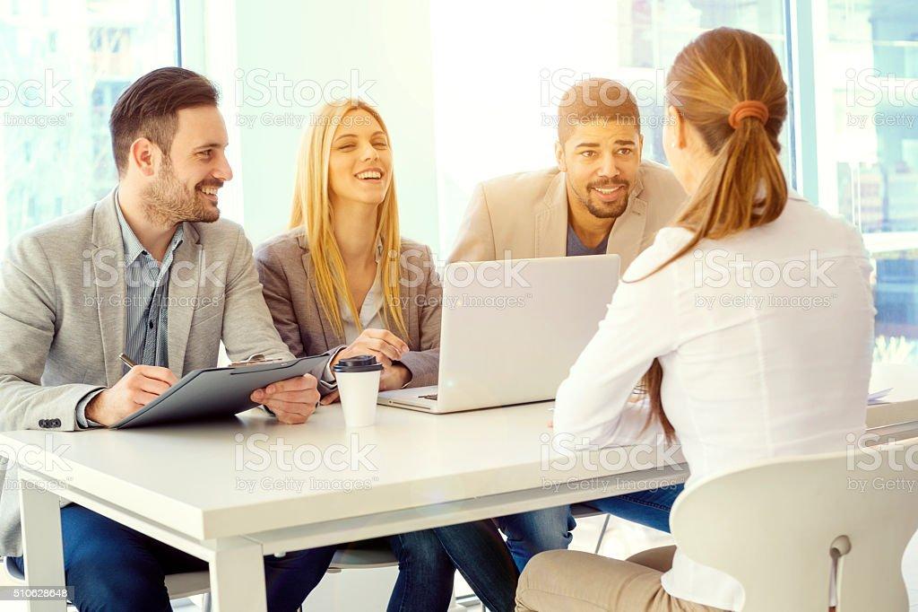 Job Bewerbungsgespräch – Foto