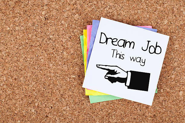 Job opportunity employment and recruitment concept stock photo
