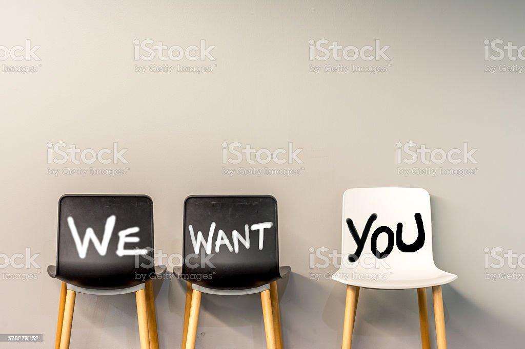 Job Recruiting royalty-free stock photo