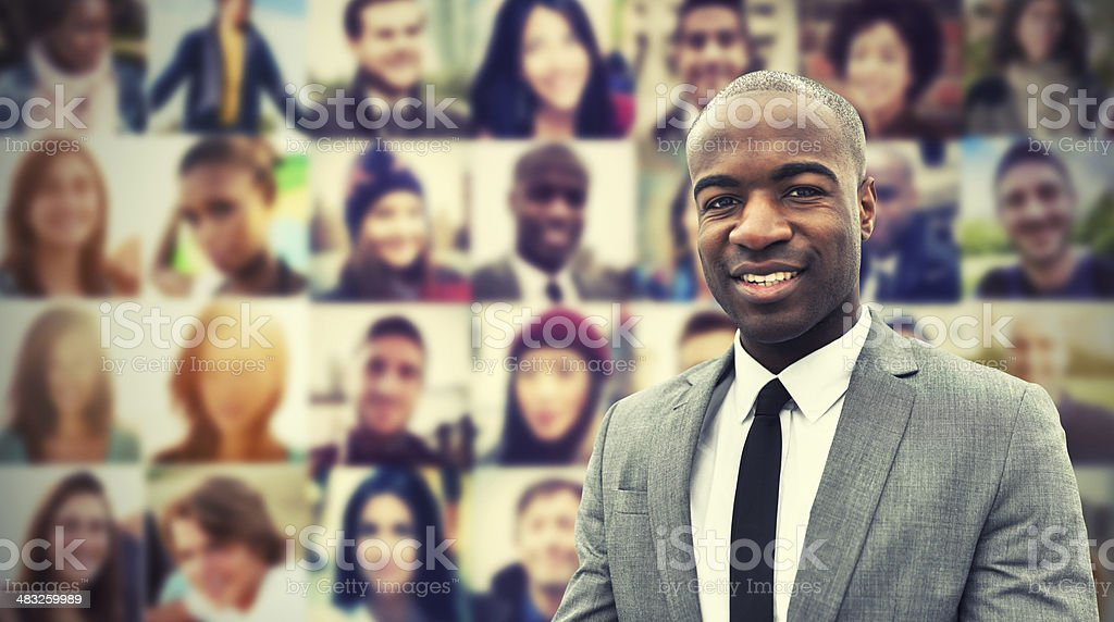 Job recruitment candidates royalty-free stock photo