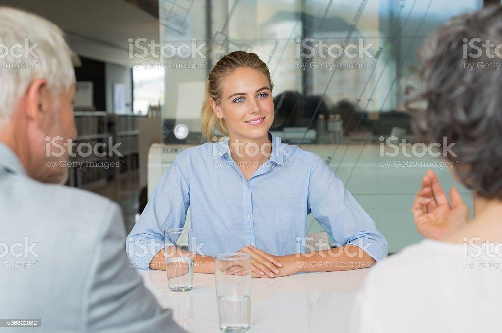 Job interview Personalbeschaffung – Foto