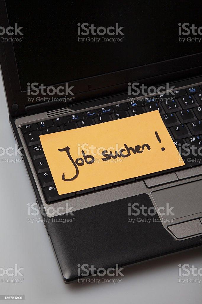 job search concept stock photo