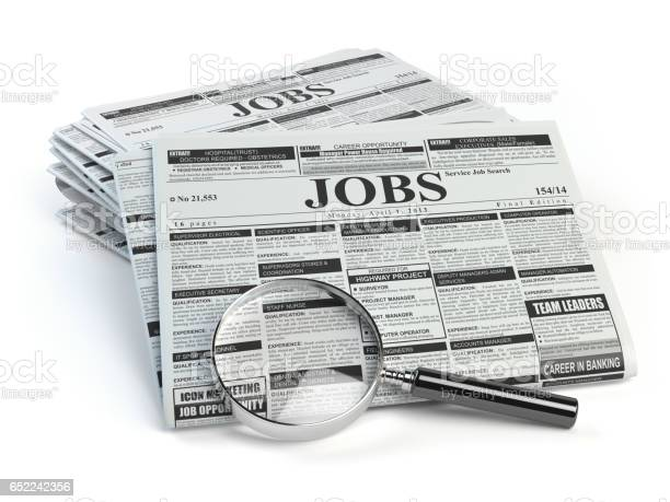 Job search loupe with jobs classified ad newspapers picture id652242356?b=1&k=6&m=652242356&s=612x612&h=uuuqqnrs6ax7zast5fjoty4rxzz jovvecy6x fp0lc=
