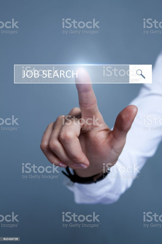 Job Search stock photo