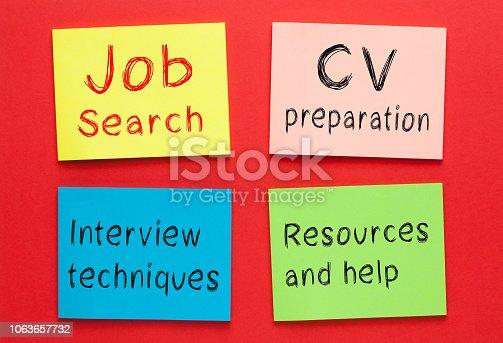 1063657732 istock photo Job Search Skills 1063657732
