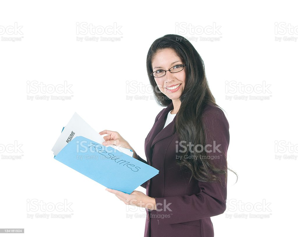 Job Searcher stock photo