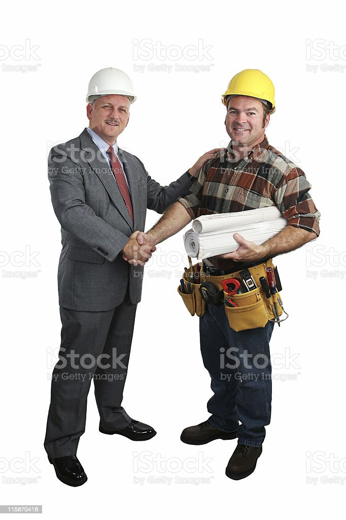 Job Well Done royalty-free stock photo