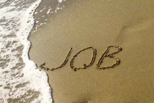 Job-Wort am Strand – Foto