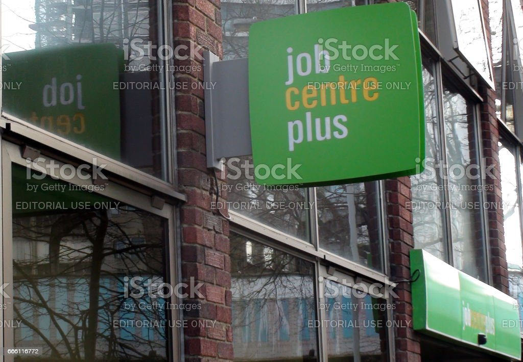 Jobcentre Plus Office Building Exterior Scene In London England Europe stock photo