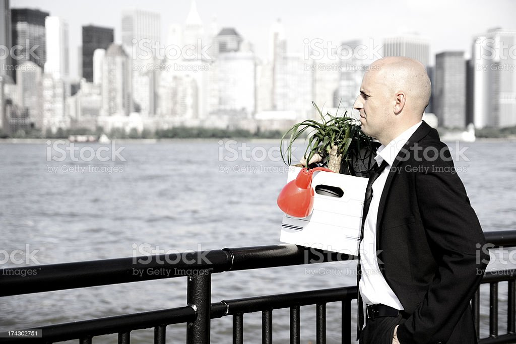 Jobless royalty-free stock photo