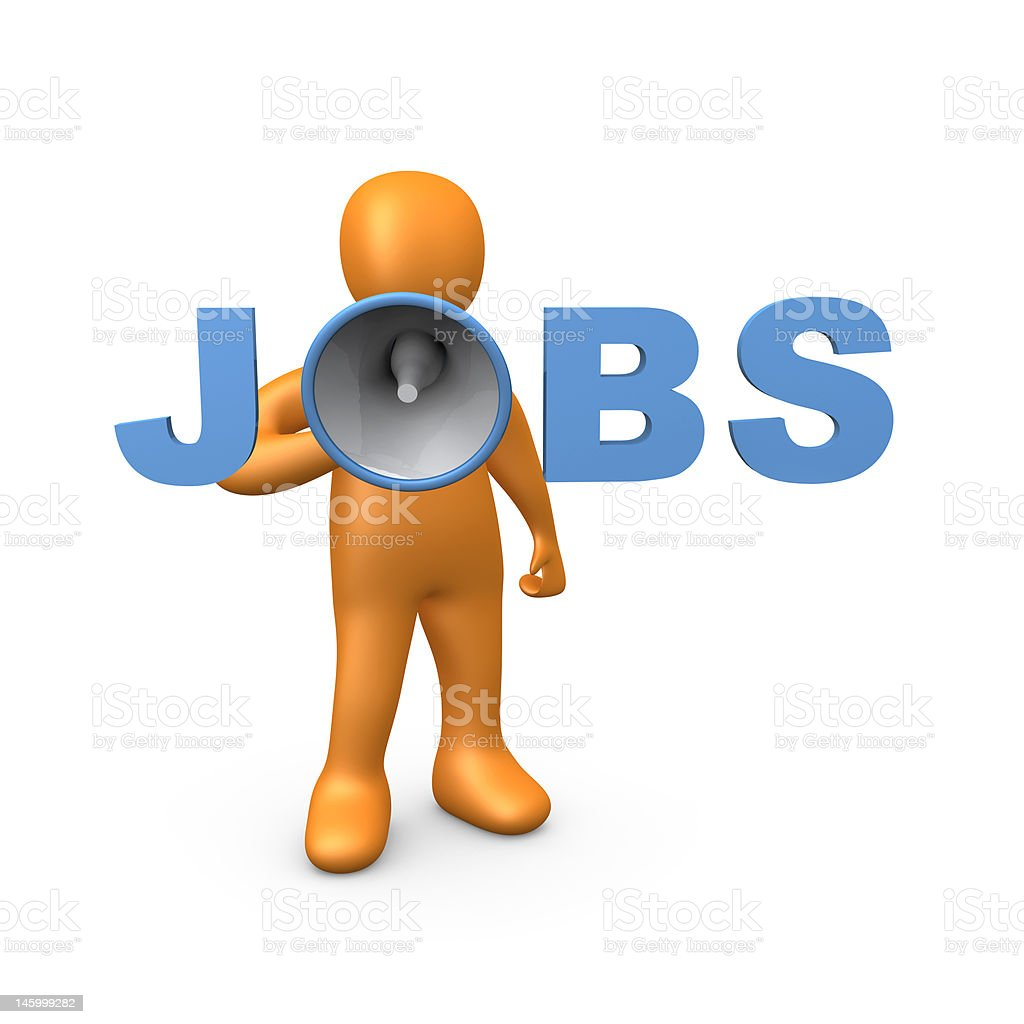 Jobs royalty-free stock photo