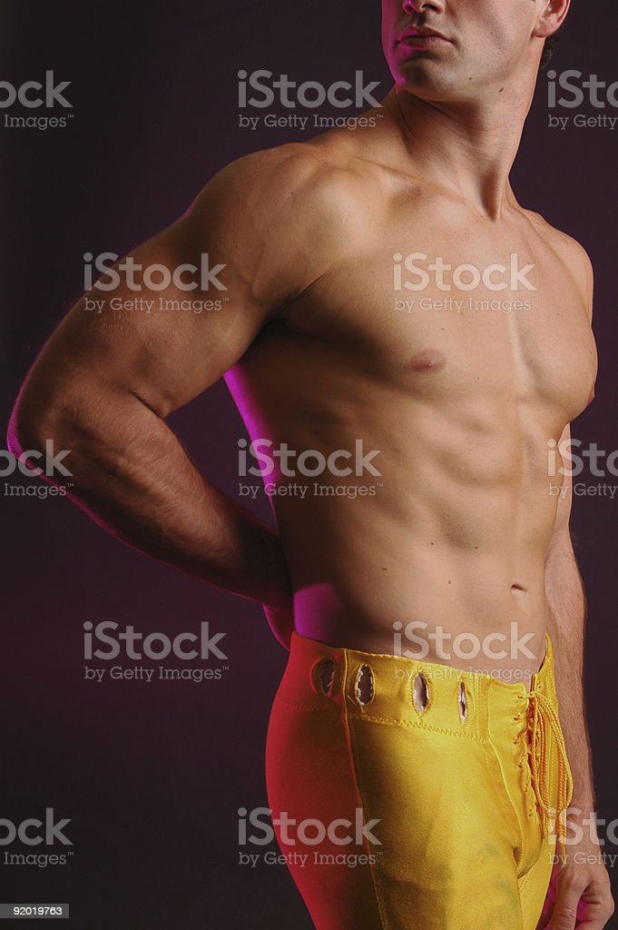 Jock stock photo