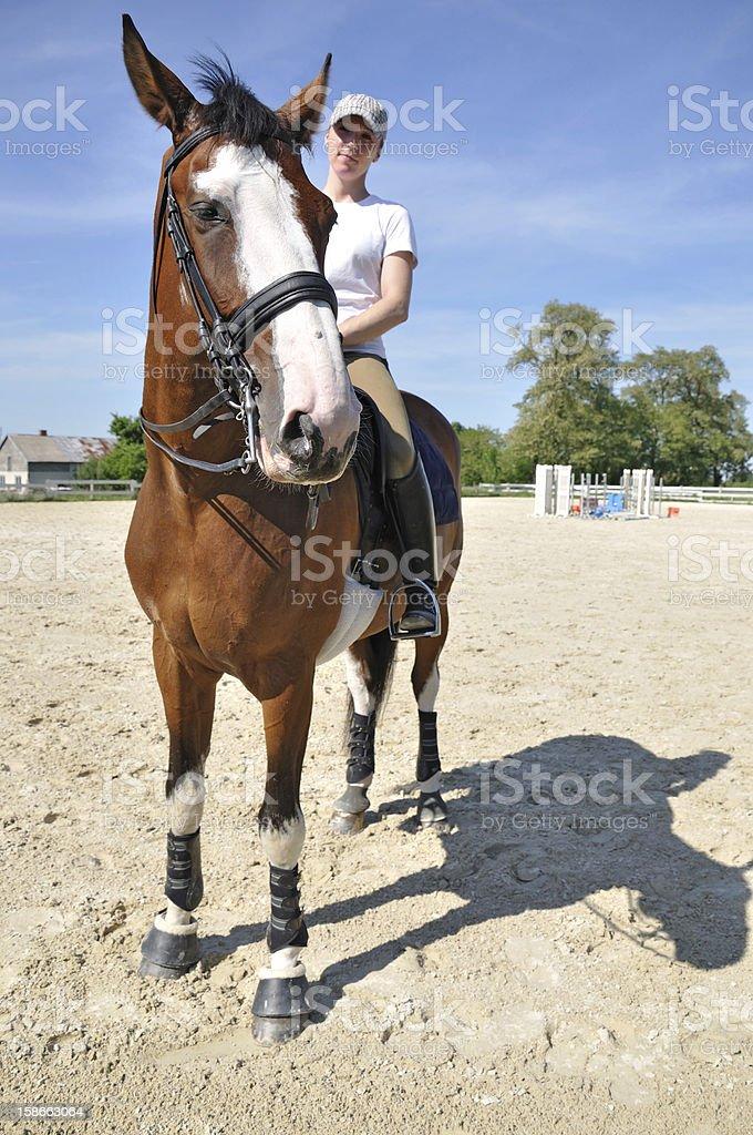 Jockey royalty-free stock photo