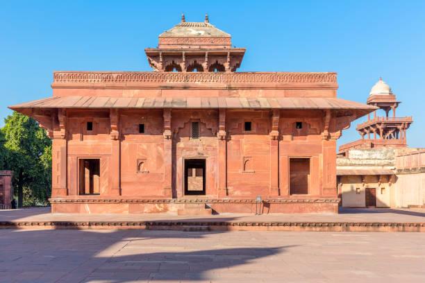 Jodha Bai's palace, Fatehpur Sikri, Uttar Pradesh, India Jodha Bai's palace, Fatehpur Sikri, Uttar Pradesh, India jodha bai's palace stock pictures, royalty-free photos & images