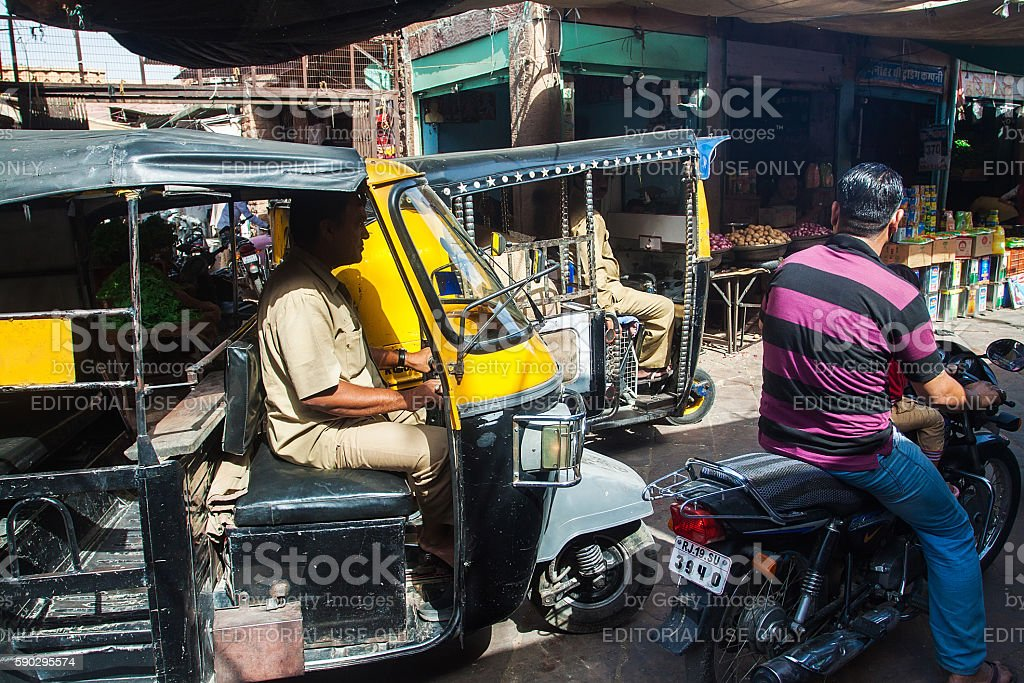 Джодхпур рынок Стоковые фото Стоковая фотография