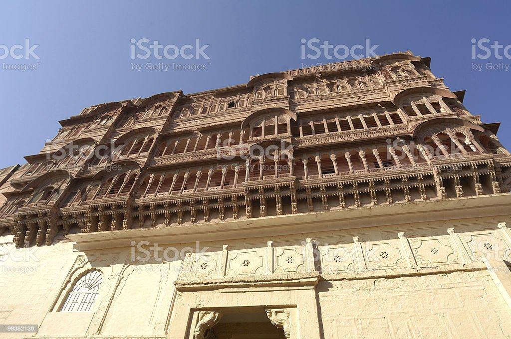 Jodhpur - Meherangarh Fort royalty-free stock photo
