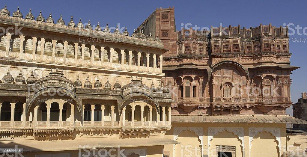 Jodhpur-Forte Meherangarh foto stock royalty-free