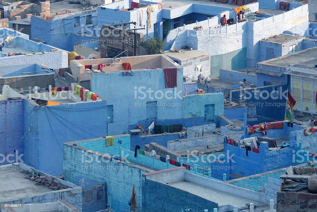 Jodhpur, the Blue City royalty-free stock photo