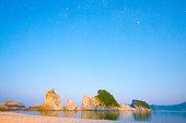 Jodogahama 、都街、岩手(都道府県)、日本の旅行