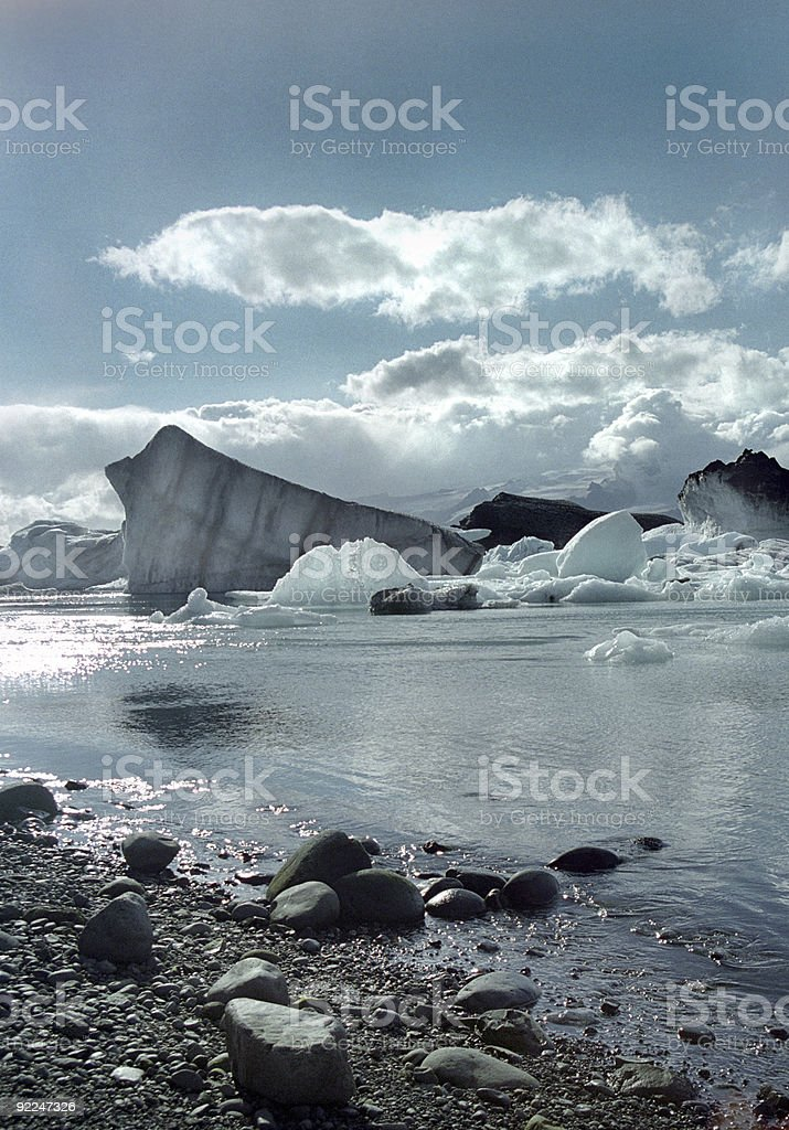 Joekulsarlon in Iceland stock photo