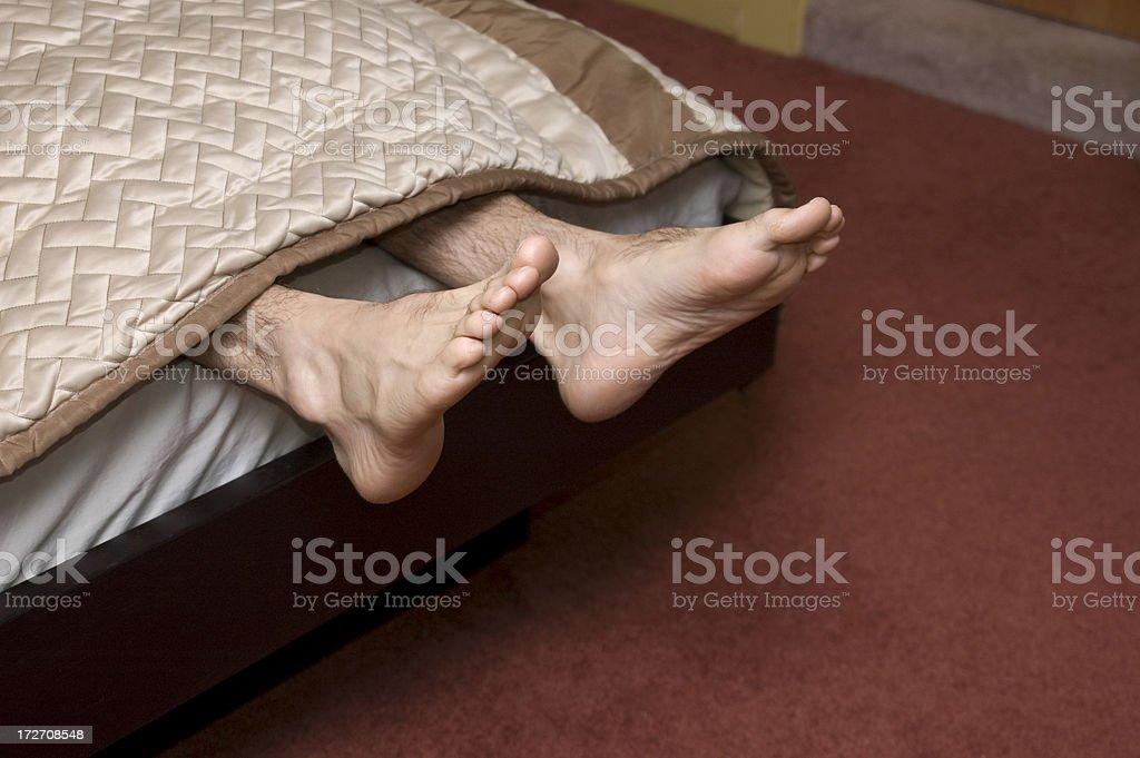 joe's feet 2 stock photo