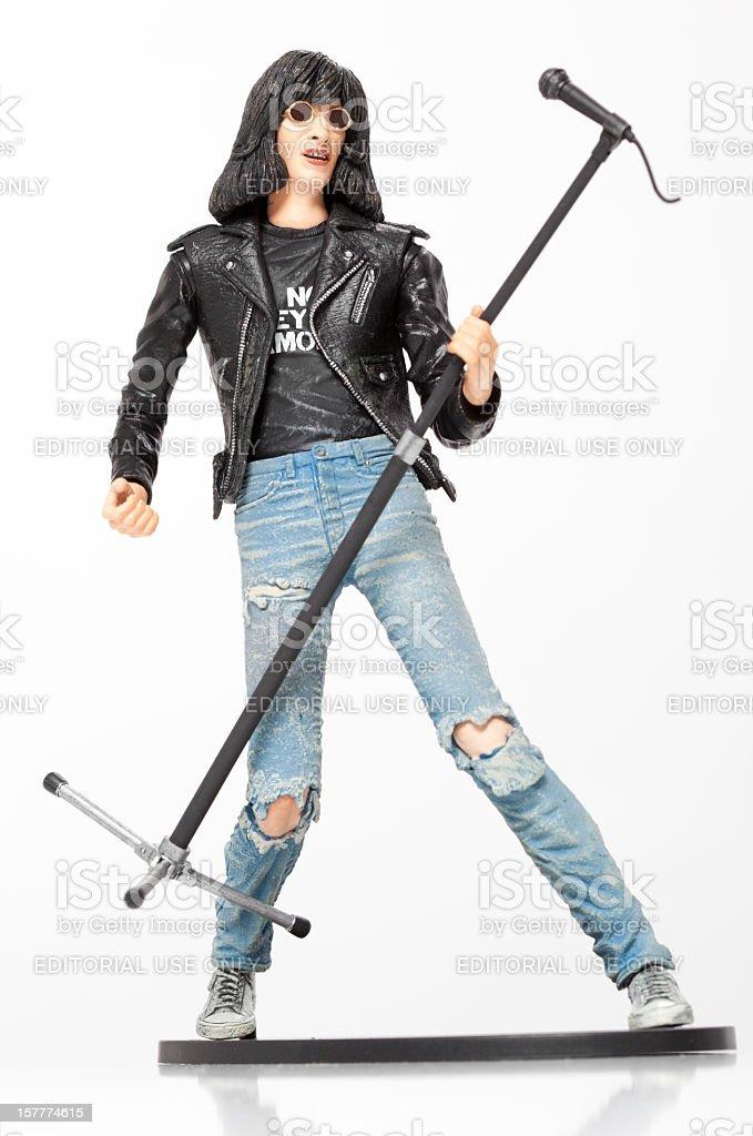 Joey Ramone Action Figure stock photo