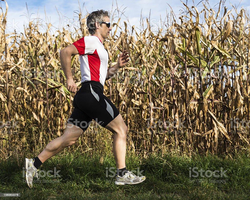 jogger royalty-free stock photo