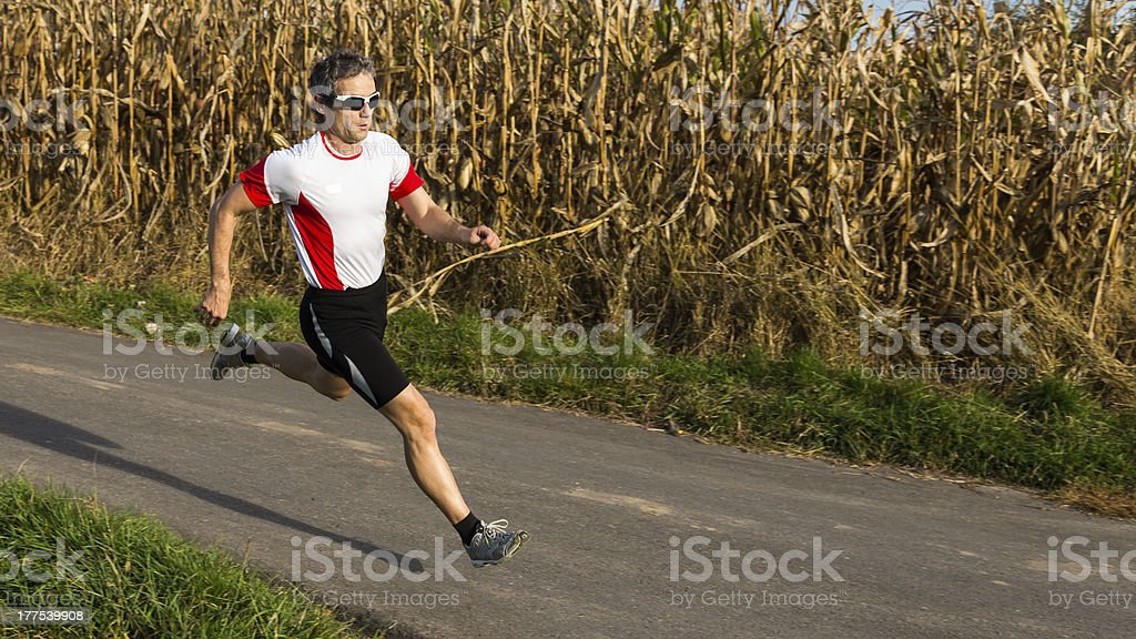 jogger royalty-free stock photo