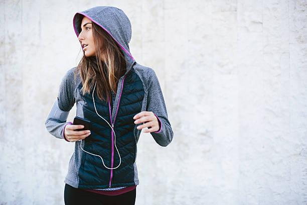 Jogger stock photo
