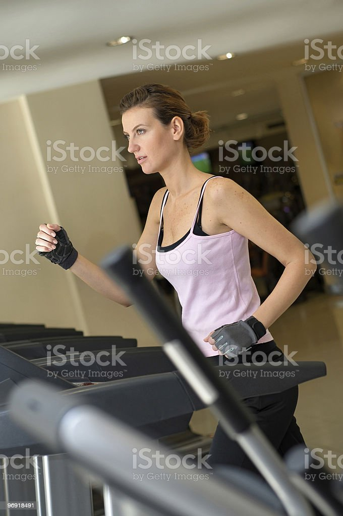 Jogging for Success royalty-free stock photo