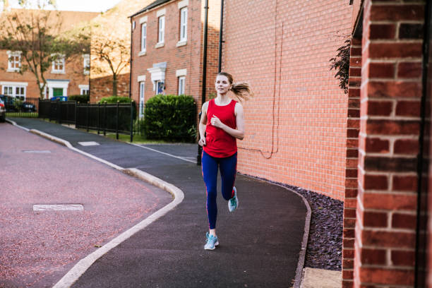 Joggen in ihrer Stadt – Foto