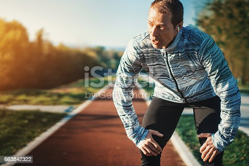 istock Jogging in the morning. 663842322
