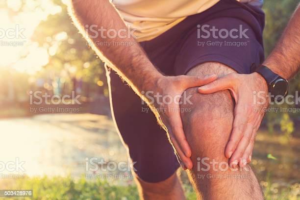 Joggen Verletzungen Stockfoto und mehr Bilder von Schmerz