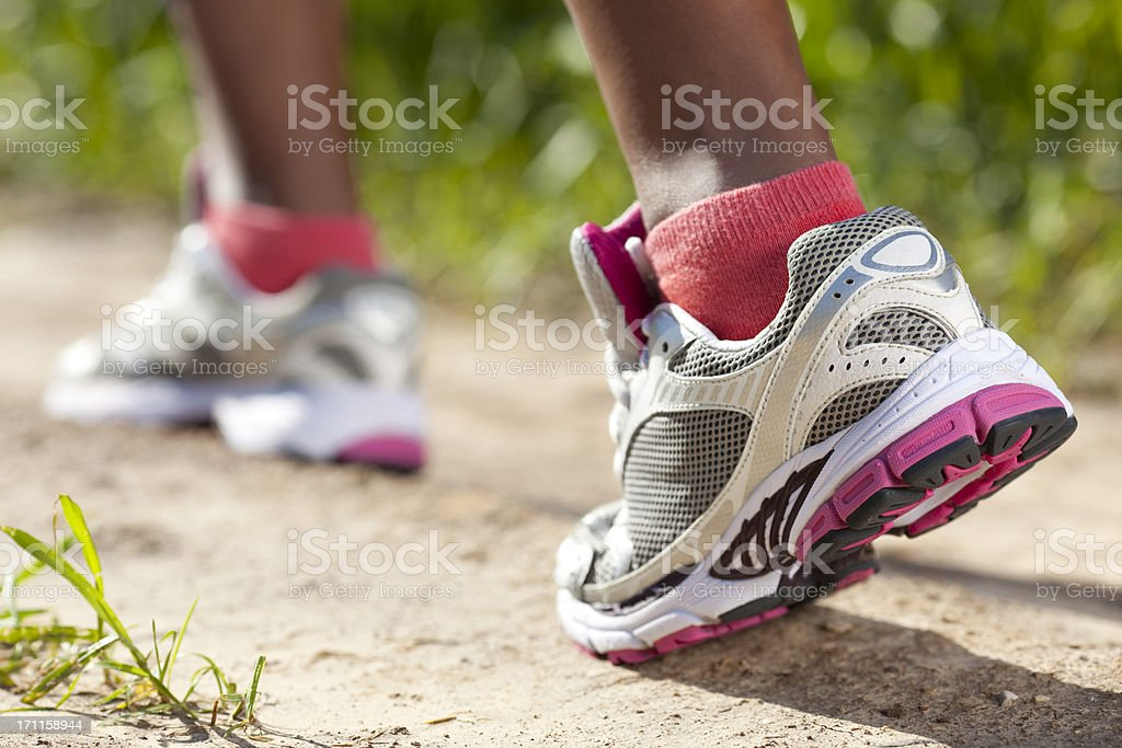 Jogging shoes. royalty-free stock photo