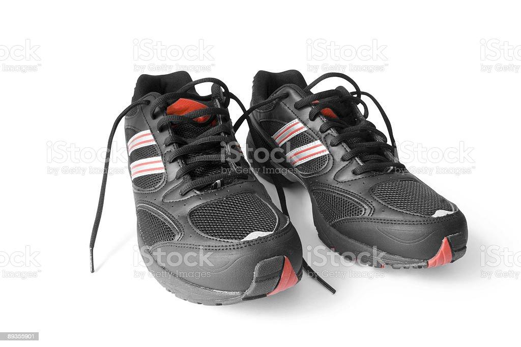 Buty do biegania zbiór zdjęć royalty-free