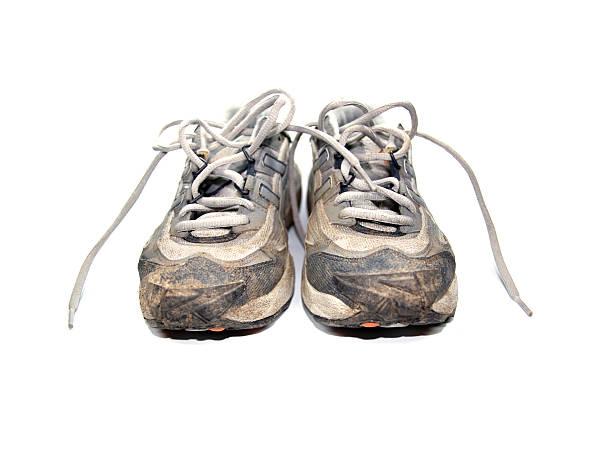 joggingshoes stock photo