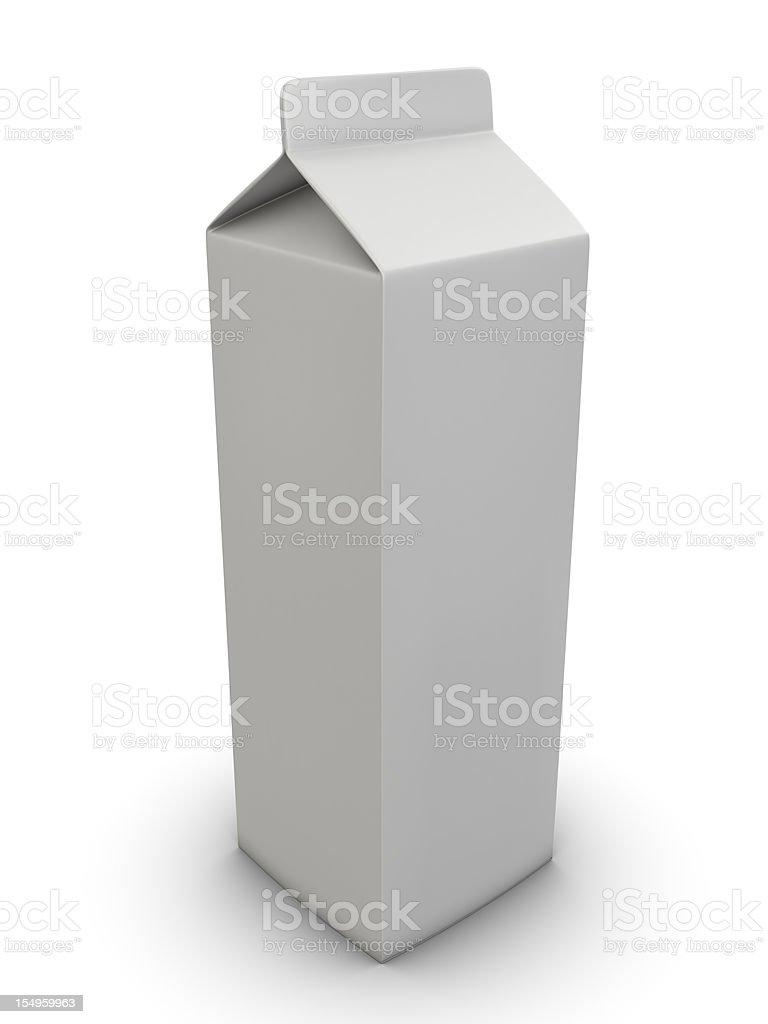 Pacote Jogurt suco de leite - foto de acervo