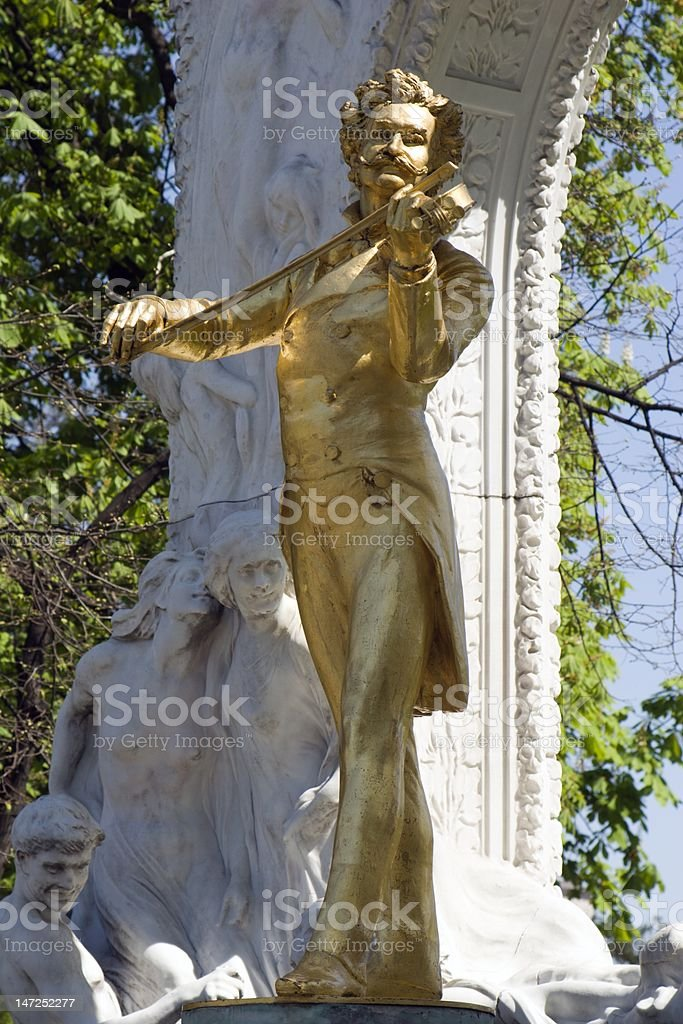 Johan Strauss from Vienna royalty-free stock photo