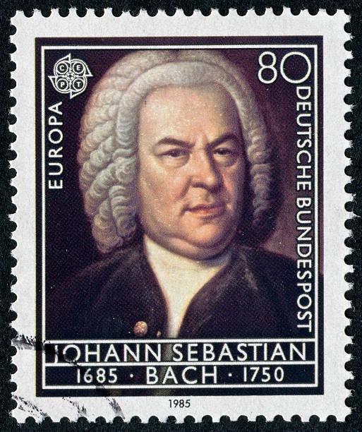 Johann Sebastian Bach Stamp – Foto