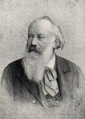 Johannes Brahms, german composer, 1833-1897 , german composer, 1810-1856