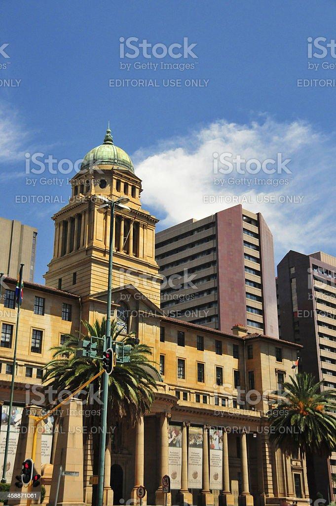 Johannesburg, South Africa: Provincial Parliament , the Gauteng Legislature royalty-free stock photo