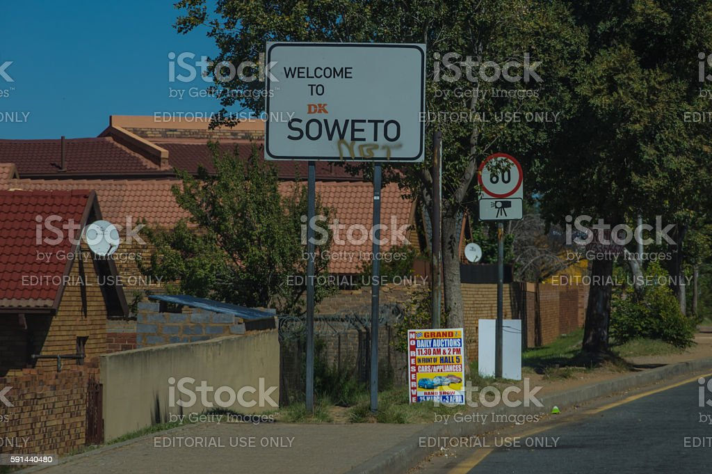 Johannesburg Streets stock photo