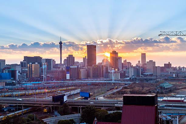 Johannesburgo sunrise klein - foto de stock
