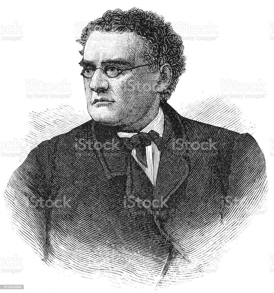 John Andrew war-governor of massachusetts.jpg stock photo