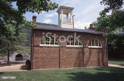 John Brown's Fort in Harper's Ferry National Park West Virginia Maryland and Virginia